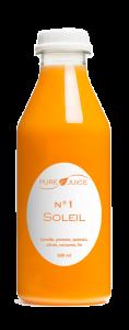 produits bouteille soleil jus détox pure juice
