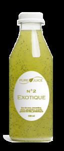 bouteille exotique jus détox pure juice