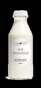 bouteille douceur lait pure juice
