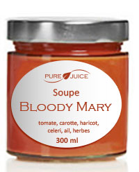 soupe bloody mary pure juice
