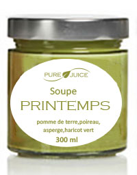 soupe printemps pure juice